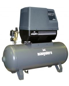 Mauguière 2HP 90L IND oil free piston compressor (230V)